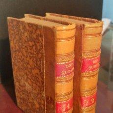 Libros antiguos - DON QUIJOTE DE LA MANCHA ED. FERRER 1832 - 67125237