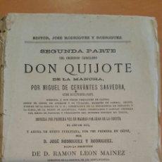 Libros antiguos: EL INGENIOSO HIDALGO DON QUIJOTE DE LA MANCHA. TOMO IV CÁDIZ 1878. TIP LA MERCANTIL. VER DESCRIPCIÓ. Lote 67669241