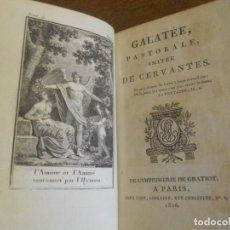 Libros antiguos: CERVANTES: GALATEA, VERSIÓN FRANCESA DE FLORIAN. PARÍS 1806. GRABADOS. Lote 68041233