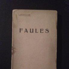 Old books - Faules. Lafontaine - 69496369