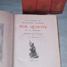 Libros antiguos: DON QUIXOTE OF LA MANCHA - 4 VOLÚMENES - MIGUEL DE CERVANTES - ED. JOHN GRANT - EDINBURGH 1906. Lote 69947289