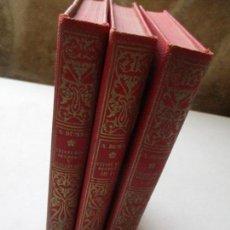Libros antiguos: ALEJANDRO DUMA, VEINTE AÑOS DESPUES Y JUANA DE ARCO, EN TRES TOMOS- EDT: ALHAMBRA- 1932. Lote 70019173