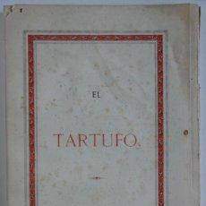 Libros antiguos: EL TARTUFO – MOLIÈRE - 1869. Lote 71657191