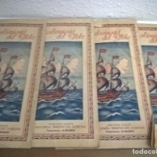 Libros antiguos: LOS DESCUBRIMIENTOS DEL GLOBO.JULIO VERNE.EDITORIAL SAENZ DE JUBERA. Lote 71853403