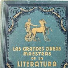 Libros antiguos: L-3586. LA ILIADA / LA ODISEA. HOMERO.EDICIONES POPULARES IBERIA-JOAQUIN GIL, EDITOR. AÑO 1932.. Lote 72229687