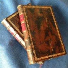 Libros antiguos: DUQUE DE RIVAS ROMANCES 2 TOMOS CLÁSICOS CASTELLANOS. MADRID 1912. Lote 72879851