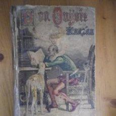 Libros antiguos: EL INGENIOSO HIDALGO DON QUIJOTE DE LA MANCHA POR MIGUEL DE CERVANTES SATURNINO CALLEJA 1905. Lote 73599443