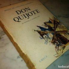 Libros antiguos: DON QUIJOTE DE LA MANCHA. MIGUEL DE CERVANTES ILUSTRACIONES DE SALVADOR DALÍ. Lote 75261367