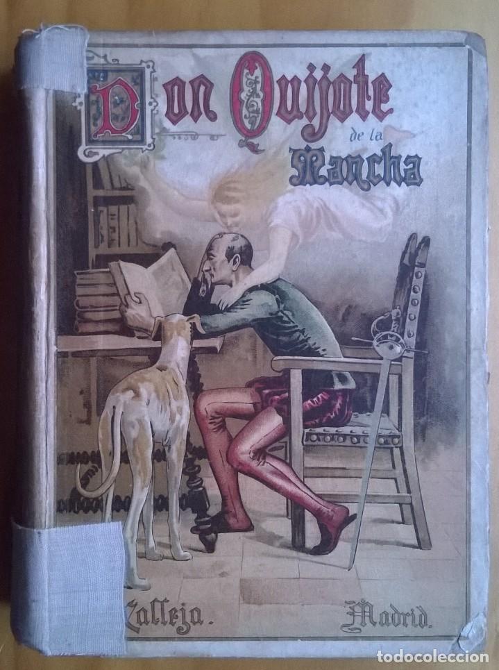1984-DON QUIJOTE DE LA MANCHA-MIGUEL DE CERVANTES, ED SATURNINO CALLEJA PARA ESCUELAS (Libros antiguos (hasta 1936), raros y curiosos - Literatura - Narrativa - Clásicos)