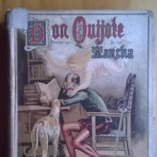 Libros antiguos: 1984-DON QUIJOTE DE LA MANCHA-MIGUEL DE CERVANTES, ED SATURNINO CALLEJA PARA ESCUELAS. Lote 76142567