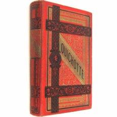 Libros antiguos: CA. 1890 - CERVANTES - DON QUIJOTE - ILUSTRADO POR JOSÉ RIVELLES - 20 LÁMINAS - GRABADOS - SIGLO XIX. Lote 76906035