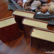 Libros antiguos: EDITORIAL AGUILAR DE LUJO 4 VOLUMENES CHARLES DICKENS , EN PERFECTO ESTADO, CONSERVADOS EN VITRINA. Lote 76913275