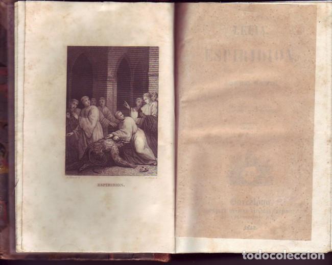 Libros antiguos: Lelia y Espiridión (2 tomos). Sand, Jorge. Juan Oliveres, Impresor. Barcelona, 1843. - Foto 3 - 77603513