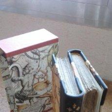 Libros antiguos: ¡¡PRECIOSA ENCUADERNACIÓN GEMELA!! LE AVVENTURE DI TELEMACO (1804) / FENELON. AVENTURAS.... Lote 77925437