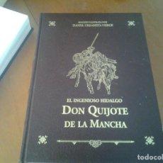 Libros antiguos: EL INGENIOSO HIDALGO DON QUIJOTE DE LA MANCHA . EDICIÓN ILUSTRADA POR DANIEL URRABIETA VIERGE 2 TOMO. Lote 77978529