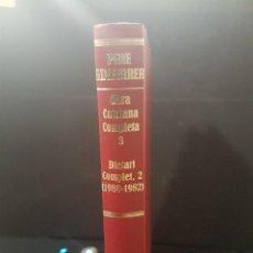 Livres anciens: PERE GIMFERRER. DIETARI COMPLET,2(1980-1982) OBRA COMPLETA CATALANA 3. Lote 80633546