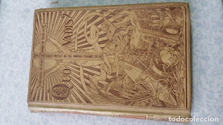 Libros antiguos: QUO VADIS? SIENKIEWICZ. 1900. - Foto 3 - 80720902