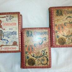 Alte Bücher: DON QUIJOTE PRIMERA EDICIÓN F.SEIX S.XIX. Lote 80765688