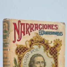 Livres anciens: NARRACIONES EXTRAORDINARIAS. EDGAR POE. CALLEJA. Lote 80837375