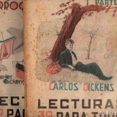 Libros antiguos: DICKENS : EL HIJO DE LA PARROQUIA - 2 VOLS.(LECTURAS PARA TODOS, 1934). Lote 81030288