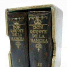 Libros antiguos: EDICIÓN MICROSCÓPICA DE DON QUIJOTE DE LA MANCHA - 1952 - EDICIONES CASTILLA - CERVANTES. MINIATURA. Lote 81217380