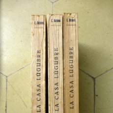 Libros antiguos: LA CASA LÚGUBRE C. DICKENS COLECCIÓN ESMERALDA 1934 3 TOMOS. Lote 82090460