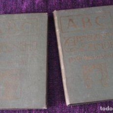 Libros antiguos: LOTE 2 EJEMPLARES NOVELA ILUSTRADA ABC RAMUNCHO(PIERRE LOTI) Y ABNEGACIÓN Y AMOR(MAD LESCOT) F.XIX. Lote 83558276