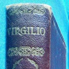 Libros antiguos: OBRAS COMPLETAS. BUCÓLICAS, GEÓRGICAS, ENEIDA -VIRGILIO- ENVÍO: 2,50 € *.. Lote 83829996