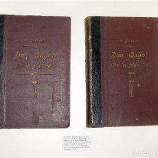 Libros antiguos: EL QUIJOTE EN 2 VOLS. - CENTRO EDITORIAL ARTÍSTICO DE MIGUEL SEGUÍ - ILUS. PAHISSA Y SERIÑA 1897. Lote 85410460