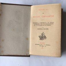 Libros antiguos: RINCONETE Y CORTADILLO, POR MIGUEL DE CERVANTES (A.1884). Lote 85748634