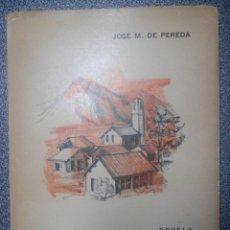 Libros antiguos: PEREDA. COSTUMBRISMO CÁNTABRO. EL SABOR DE LA TIERRUCA. RARA EDICIÓN ARGENTINA. BIOGRAFÍA DEL AUTOR. Lote 86922768