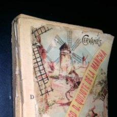 Libros antiguos: EL INGENIOSO HIDALGO DON QUIJOTE DE LA MANCHA / SOPENA / CERVANTES / RARO. Lote 87243908