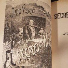 Libros antiguos: OBRAS DE JULIO VERNE VOLUMEN 9,CON ILUSTRACIONES.. Lote 87350736