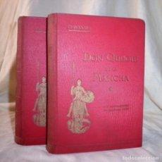 Libros antiguos: DON QUIJOTE DE LA MANCHA - AÑO 1915 - CERVANTES - GRABADOS DE DORÉ.. Lote 87419236