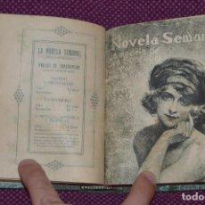 Libros antiguos: MUY ANTIGUO - TOMO CON 10 NOVELAS - LA NOVELA SEMANAL - AÑOS 20 - VINTAGE - HAZME UNA OFERTA. Lote 87459644