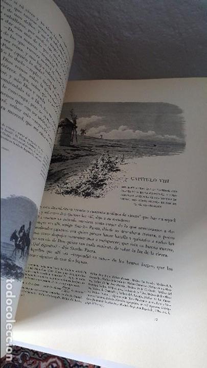 Libros antiguos: Don Quijote de la Mancha. 1930. Edición.Montaner Simón. Cervantes ilustraciones Balaca y Pellicer - Foto 3 - 88983500