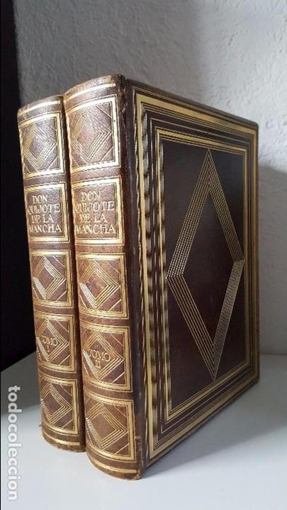 Libros antiguos: Don Quijote de la Mancha. 1930. Edición.Montaner Simón. Cervantes ilustraciones Balaca y Pellicer - Foto 6 - 88983500