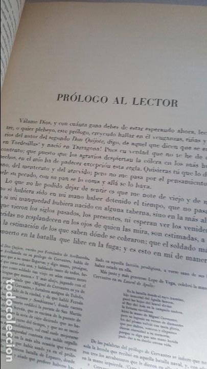 Libros antiguos: Don Quijote de la Mancha. 1930. Edición.Montaner Simón. Cervantes ilustraciones Balaca y Pellicer - Foto 9 - 88983500