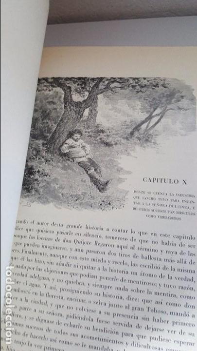 Libros antiguos: Don Quijote de la Mancha. 1930. Edición.Montaner Simón. Cervantes ilustraciones Balaca y Pellicer - Foto 11 - 88983500