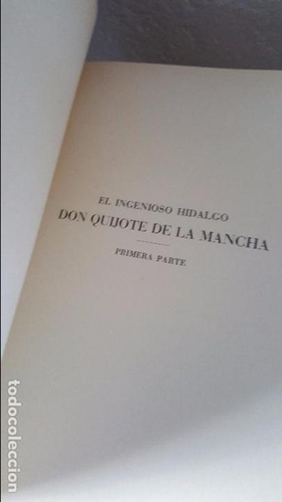 Libros antiguos: Don Quijote de la Mancha. 1930. Edición.Montaner Simón. Cervantes ilustraciones Balaca y Pellicer - Foto 12 - 88983500