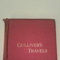 Libros antiguos: GULLIVERS TRAVELS LOS VIAJES DE GULLIVER J. SWIFT ROUTLEDGE 1894. Lote 89616080