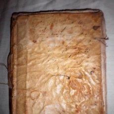 Libros antiguos: LOTE DE COMEDIAS DEL SIGLO XVIII - PERGAMINO - RARAS.. Lote 89673660