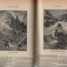 Libros antiguos: JULIO VERNE : OCHO NOVELAS COMPLETAS (SÁENZ DE JUBERA HERMANOS, C. 1900). Lote 90167704
