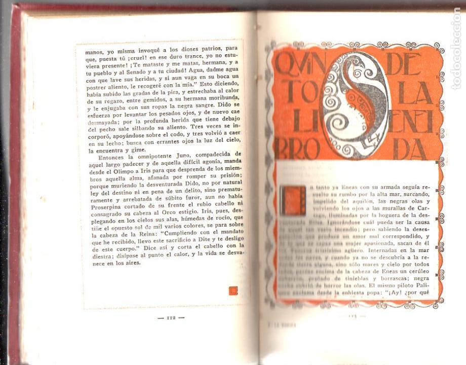 Libros antiguos: VRGILIO : LA ENEIDA (IBÉRICA, 1920) VERSIÓN COMPLETA DE E. OCHOA - Foto 2 - 90428624