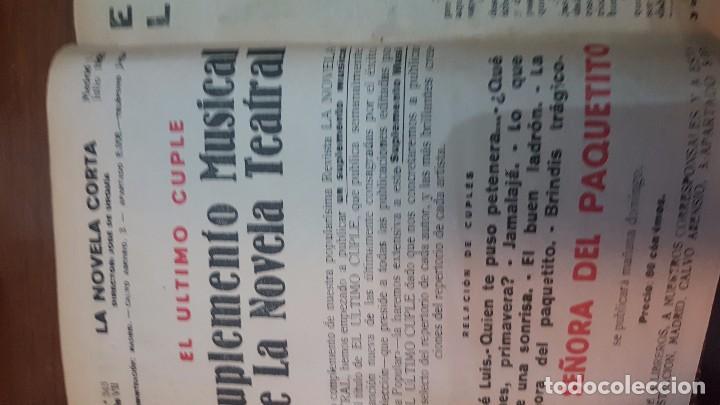 Libros antiguos: NOVELA CORTA. 1922. DESDE JULIO A DICIEMBRE. - Foto 3 - 90508025