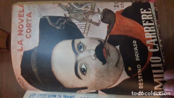 Libros antiguos: NOVELA CORTA. 1922. DESDE JULIO A DICIEMBRE. - Foto 4 - 90508025