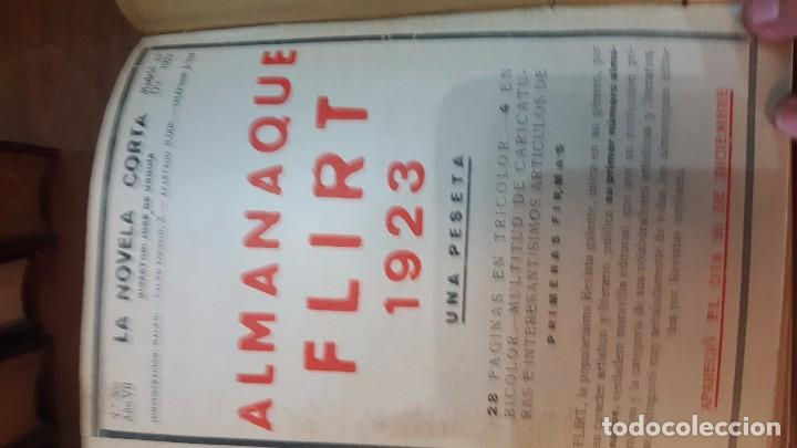 Libros antiguos: NOVELA CORTA. 1922. DESDE JULIO A DICIEMBRE. - Foto 5 - 90508025