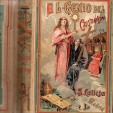 Libros antiguos: BEAUMARCHAIS : EL GENIO DEL CRISTIANISMO (CALLEJA BIBLIOTECA PERLA, S. F.). Lote 90712095