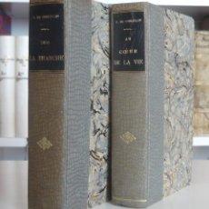Libros antiguos: 1903 - PIERRE DE COULEVAIN - LOTE DE LIBROS ANTIGUOS - NOVELAS - ENCUADERNACIONES - NARRATIVA. Lote 90739605