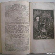 Libros antiguos: FÉNELON. LES AVENTURES DE TELEMAQUE. 1846. ILUSTRADO CON GRABADOS AL ACERO.. Lote 90813335